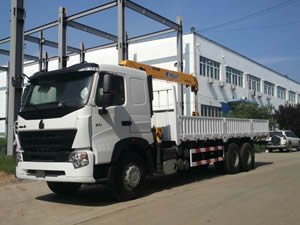 truck mounted crane china