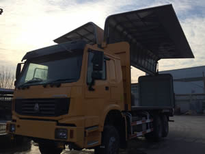 wing van truck for sale