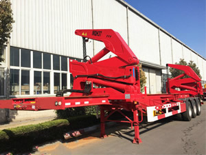 side lift container trailer for sale