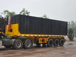 flatbed dump trailers for sale
