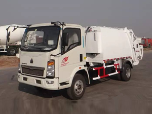 garbage truck china
