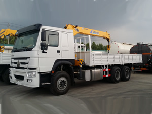 lorry mounted crane for sale