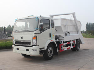 6 CBM Arm Type Garbage Truck