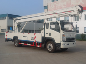Non-Insulated Manlift Truck